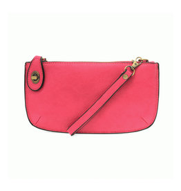 Joy Susan Mini Crossbody Wristlet Clutch Fuschia