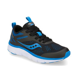 Saucony Kids & Youth Liteform Miles Black/Royal Blue