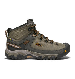 Keen Men's Targhee III Mid Black Olive/Golden Brown