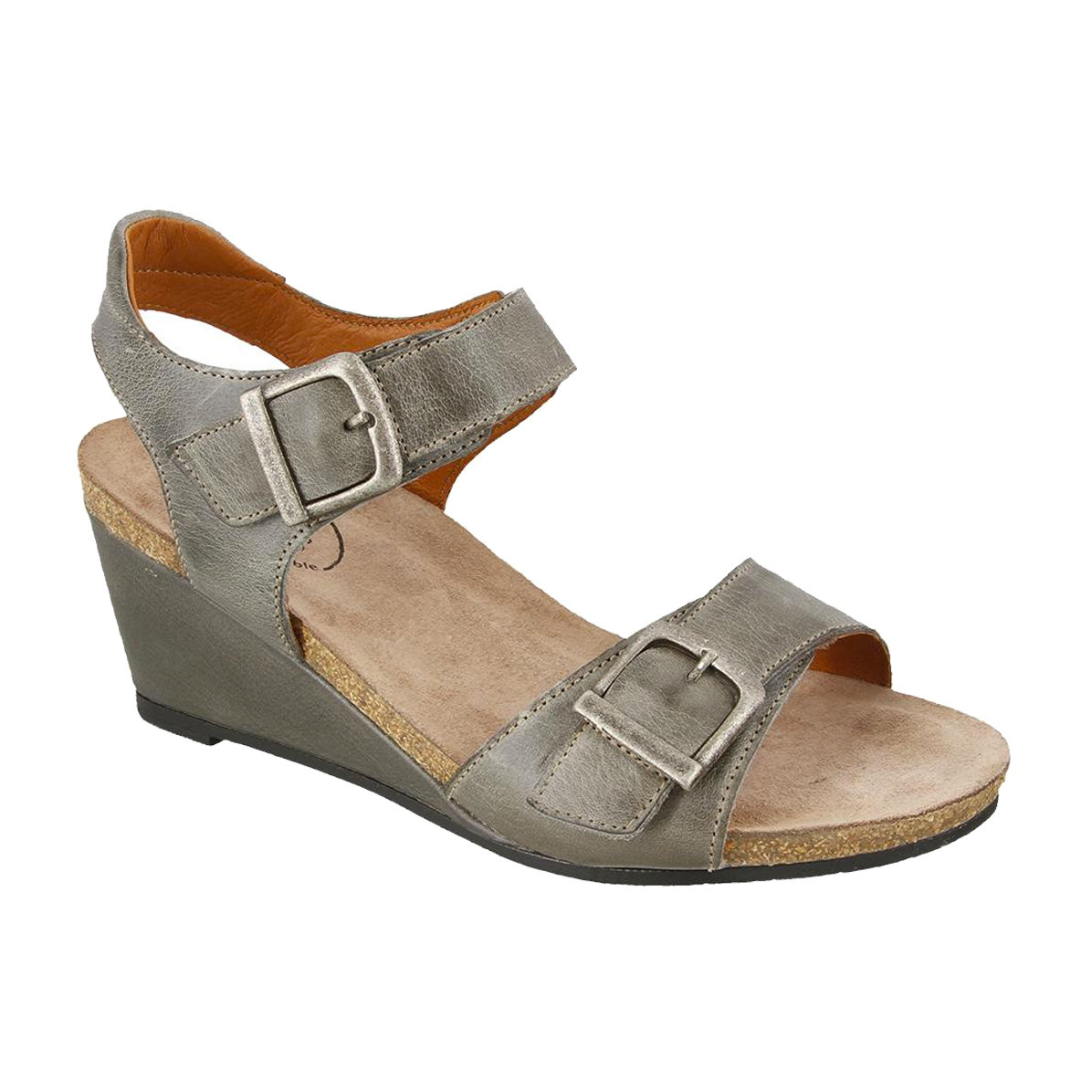 Taos Footwear Taos Women's Buckle Up Graphite