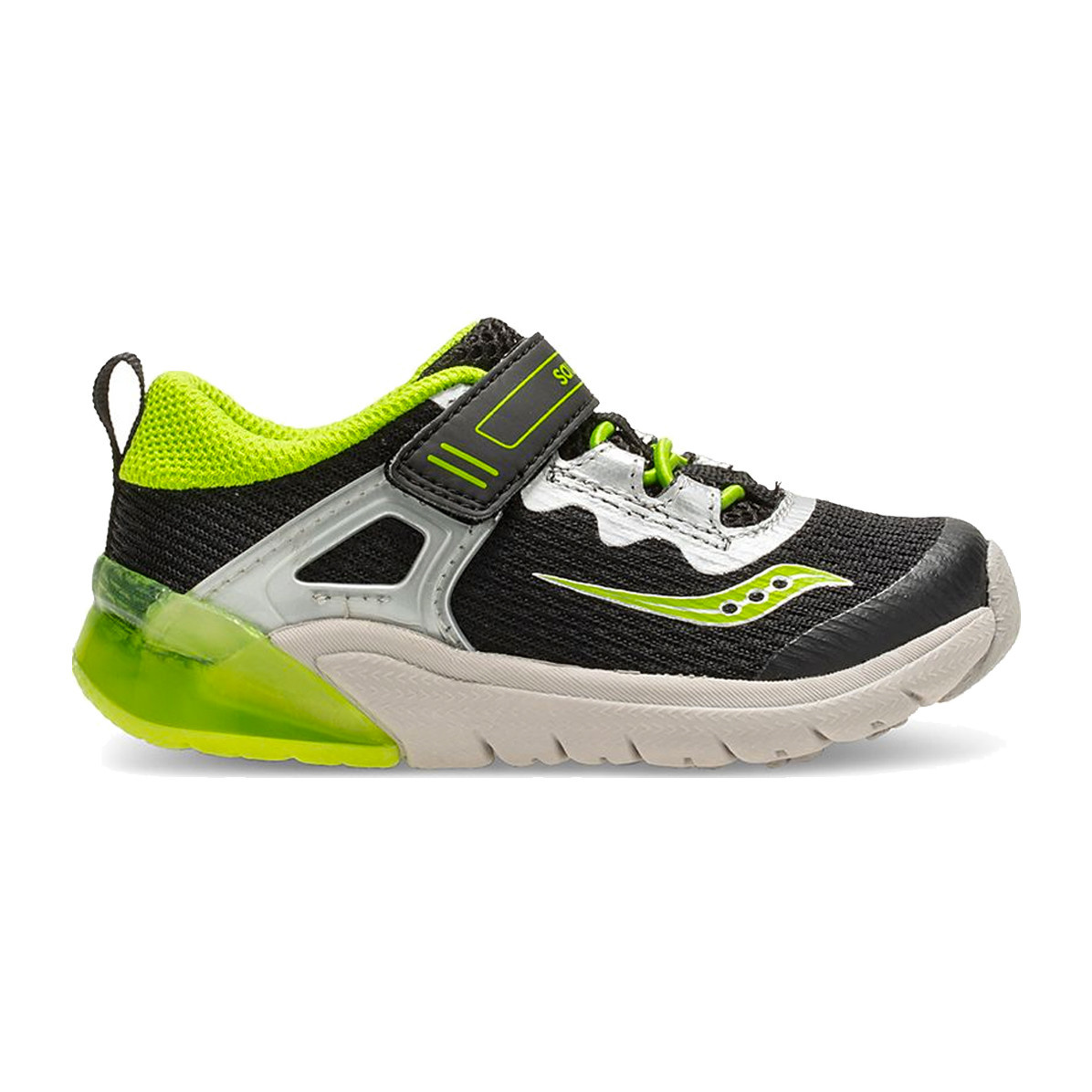 Saucony Saucony Youth Flash Glow Black/Green