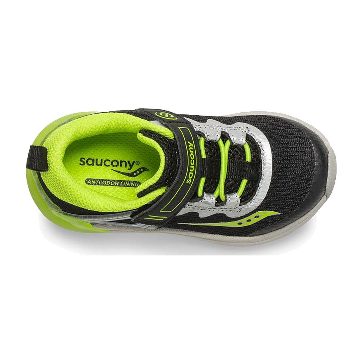 Saucony Saucony Baby Flash Glow Black/Green