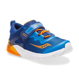Saucony Youth Flash Glow Blue/Orange