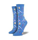 Socksmith Socksmith Women's Cotton Crew Socks Meds