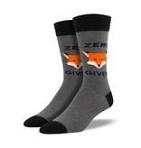 Socksmith Socksmith Men's Cotton Crew Socks Zero Fox Given