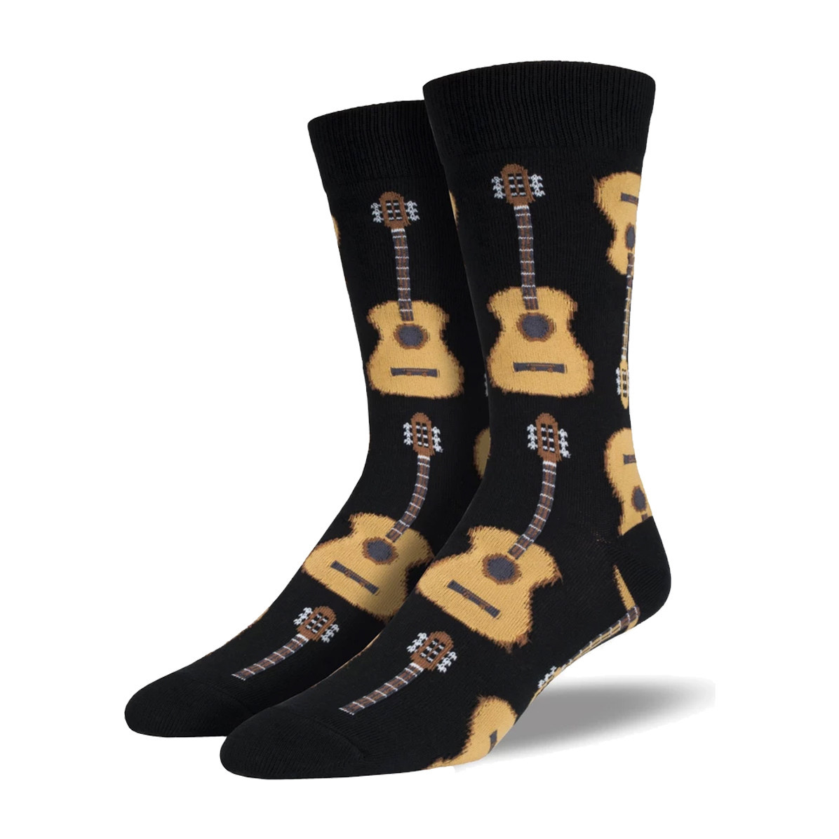 Socksmith Socksmith Men's Cotton Crew Socks Guitars