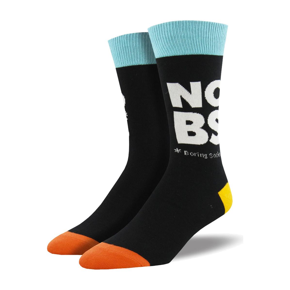 Socksmith Socksmith Men's Cotton Crew Socks No Boring Socks