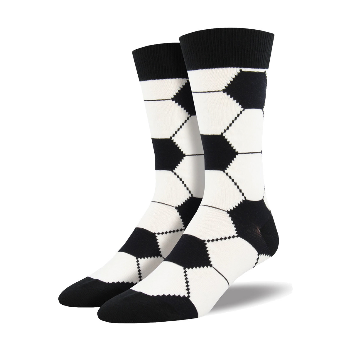 Socksmith Socksmith Men's Cotton Crew Socks Goal!