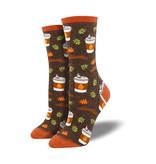 Socksmith Socksmith Women's Cotton Crew Socks Pumpkin Spice