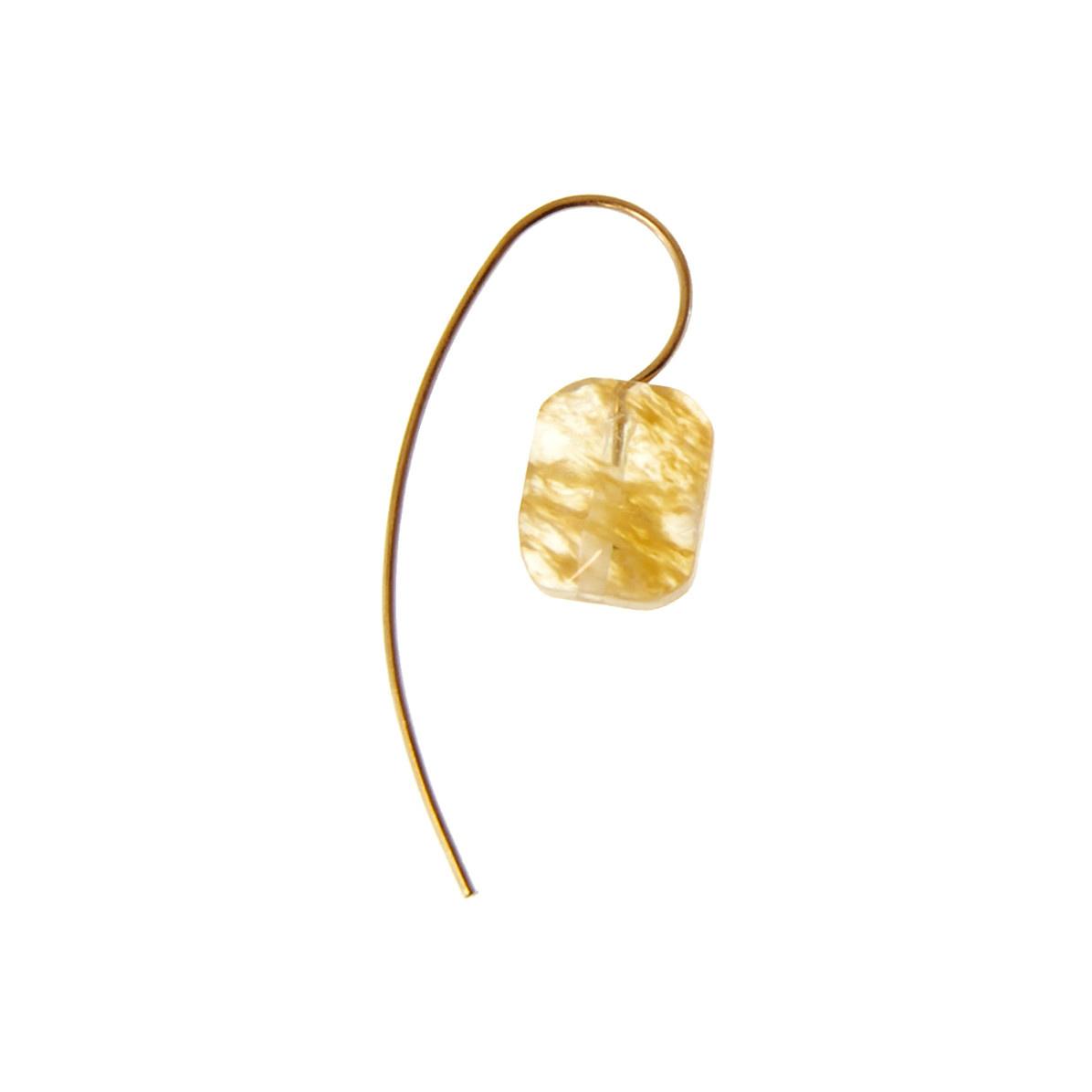 Joy Susan Joy Susan Gold Threader Earrings Natural Stone