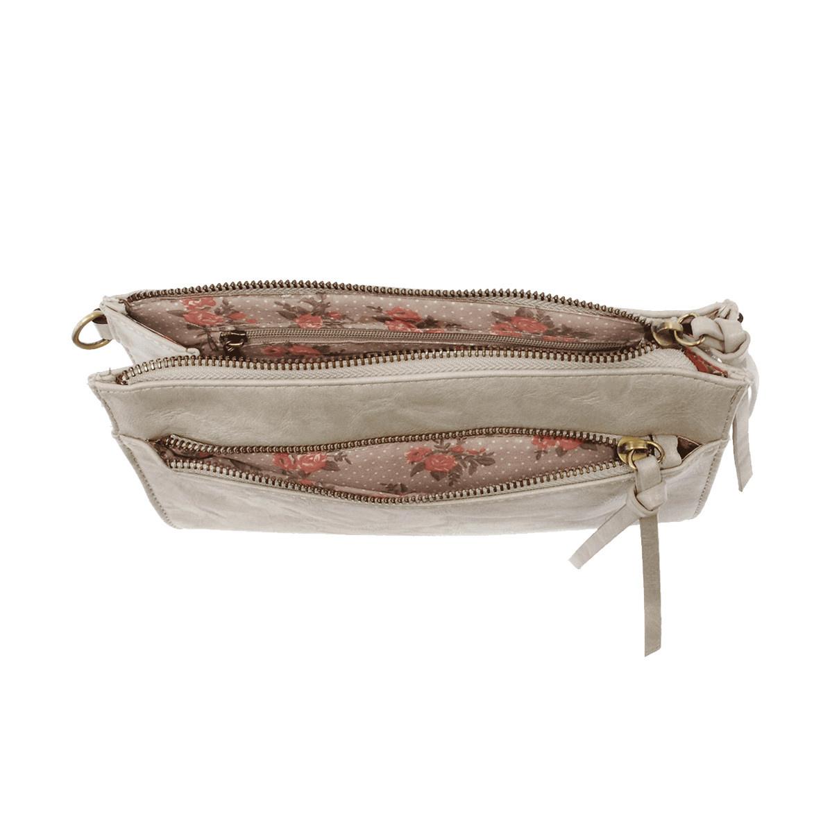 Joy Susan Joy Susan Cece Vintage Handbag Dove Grey