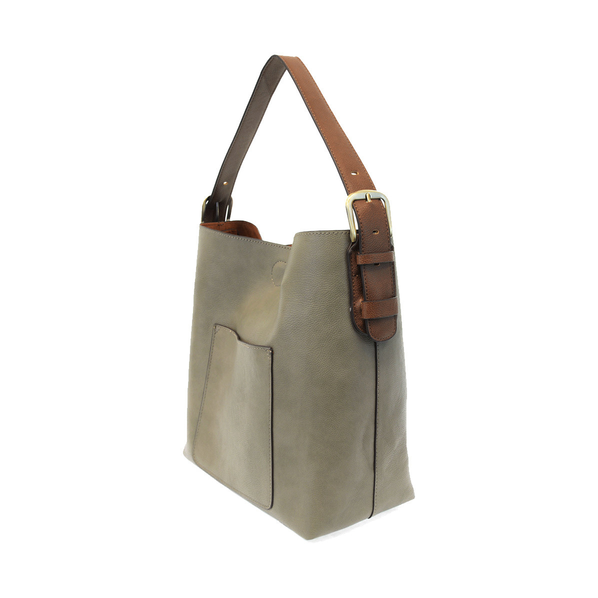 Joy Susan Joy Susan Classic Hobo Handbag Misty Grey