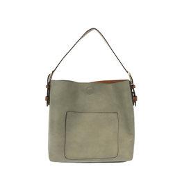 Joy Susan Classic Hobo Handbag Misty Grey