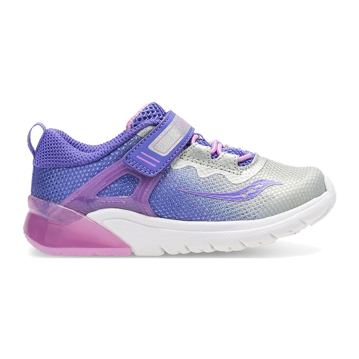 Saucony Saucony Baby Flash Glow Purple/Silver