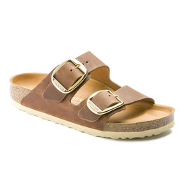 Birkenstock Womens Arizona Big Buckle Brown Narrow
