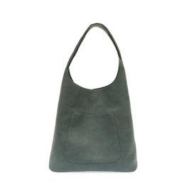Joy Susan Molly Slouchy Hobo Handbag Dark Chambray
