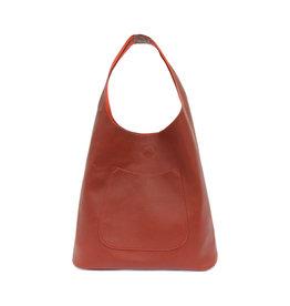 Joy Susan Molly Slouchy Hobo Handbag Sangria