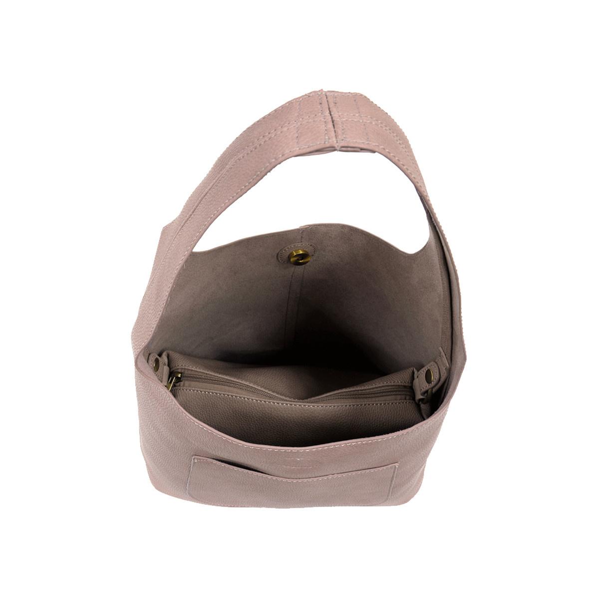 Joy Susan Joy Susan Molly Slouchy Hobo Handbag Mystic Grey