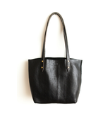Outlaw Leatherwork Outlaw Handmade Leather Tote Blk