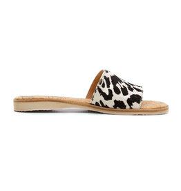 Rollie Sandal Slide White Wild Cat