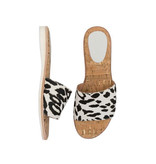 Rollie Sandal Slide White Wild Cat