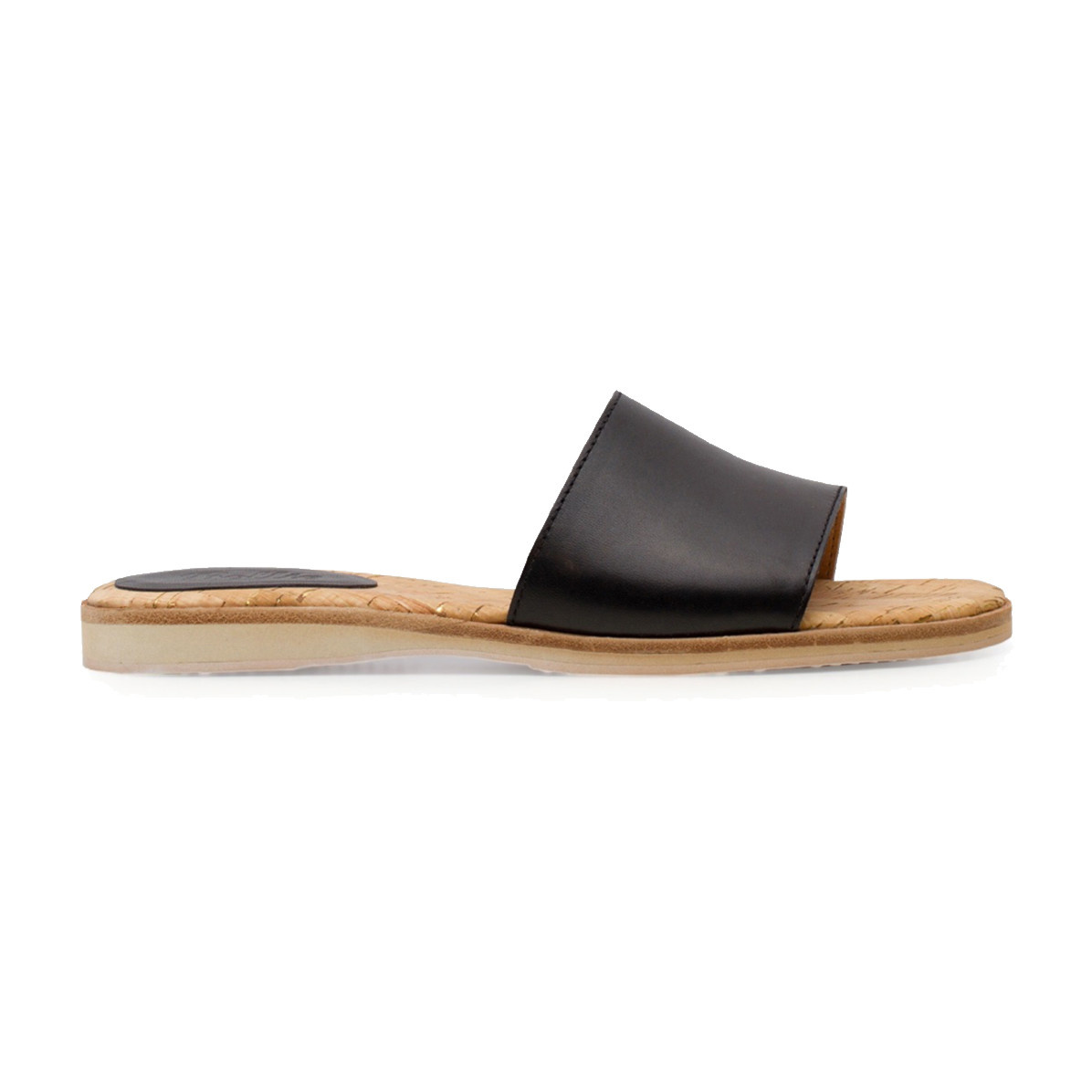 Rollie Rollie Sandal Slide Black