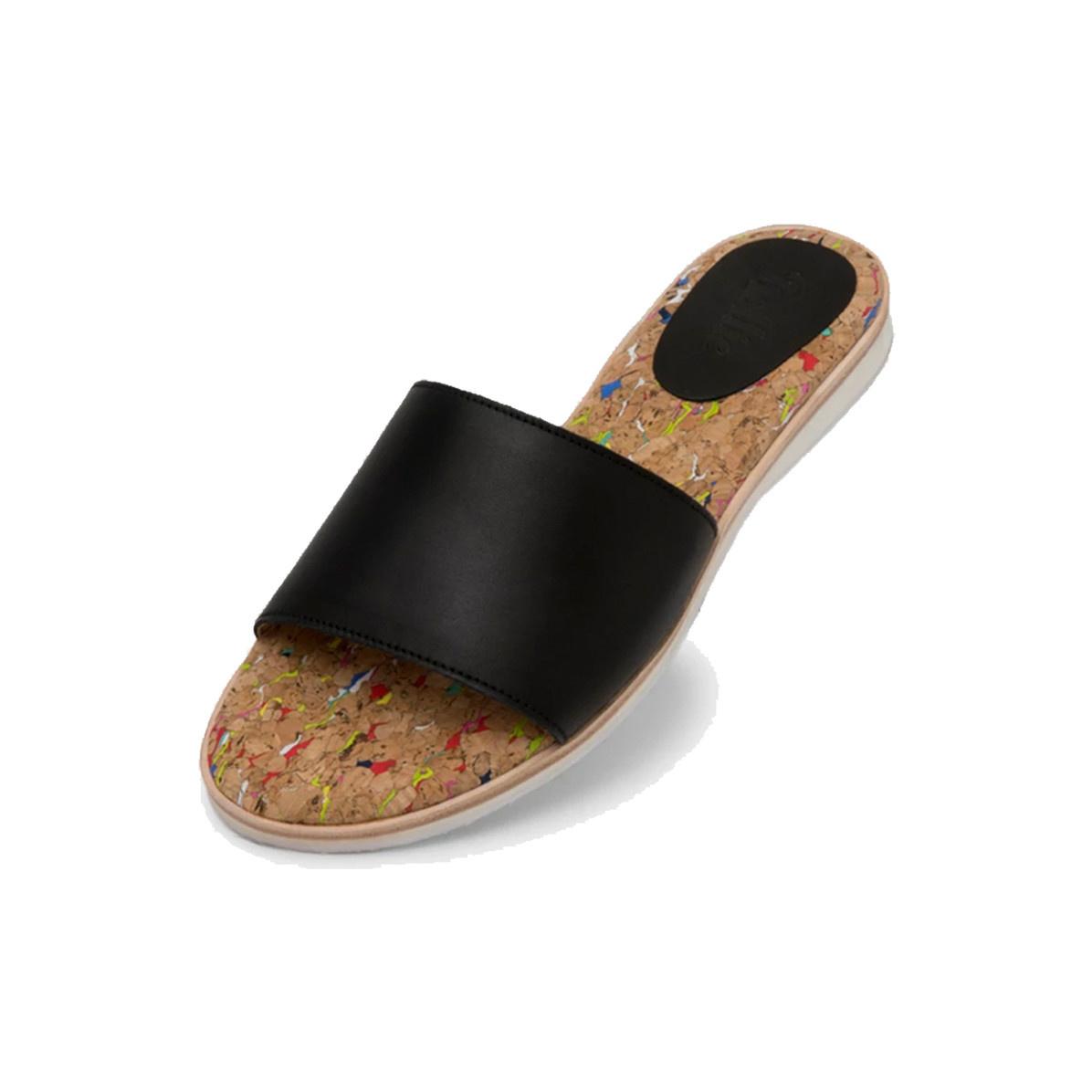 Rollie Sandal Slide Black