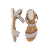 Rollie Rollie Sandal Rose Gold Sparkle
