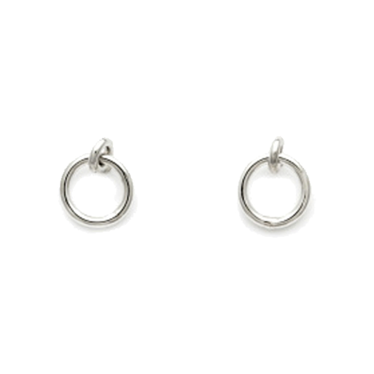 Laughing Sparrow Sterling Silver Swing Studs