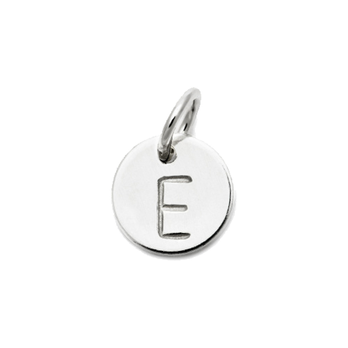 Laughing Sparrow Letter Charm E