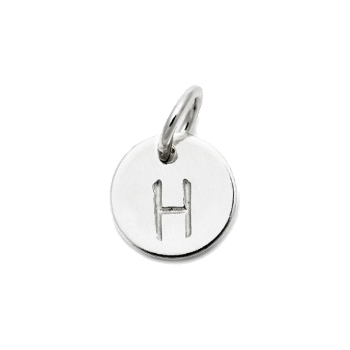 Laughing Sparrow Letter Charm H