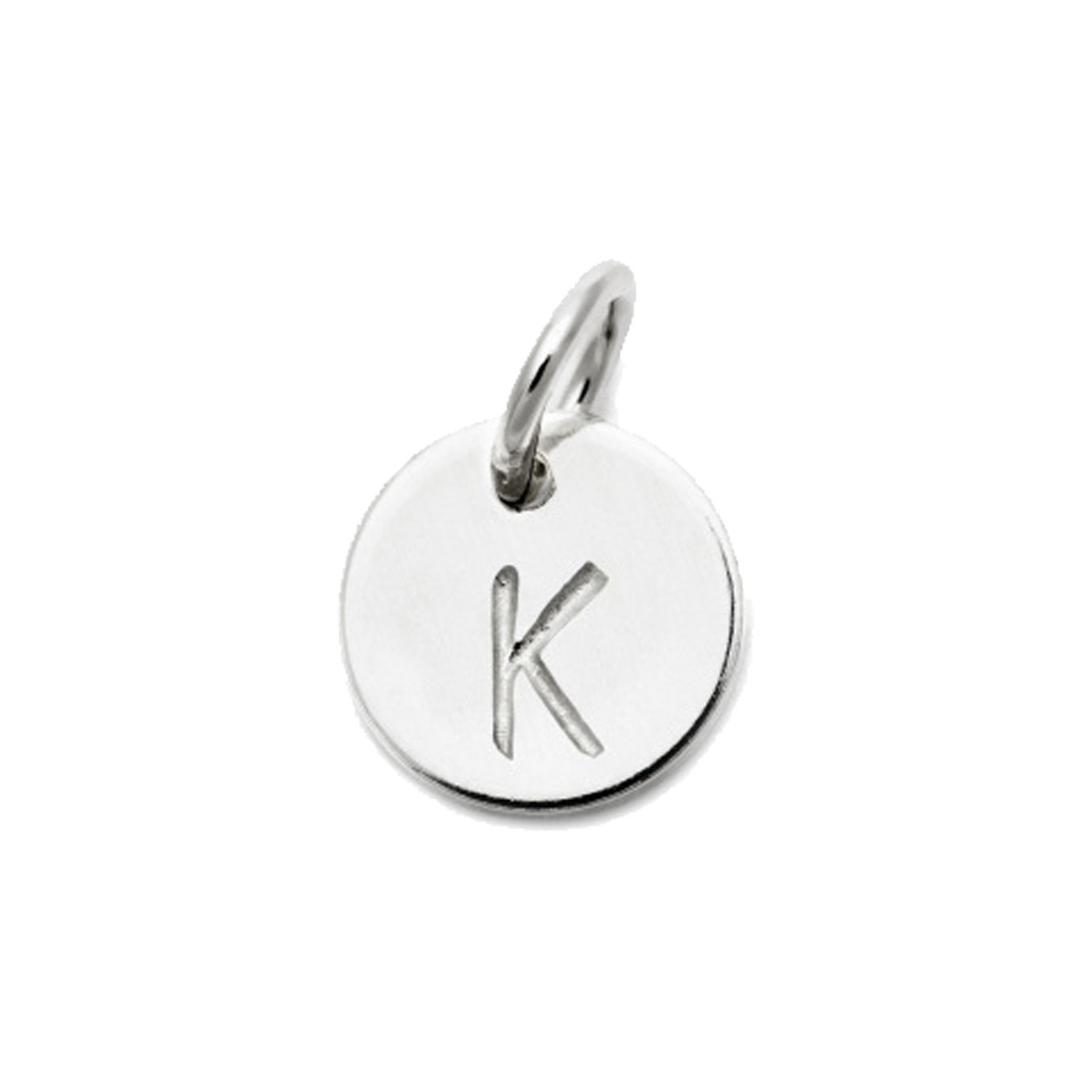 Laughing Sparrow Letter Charm K