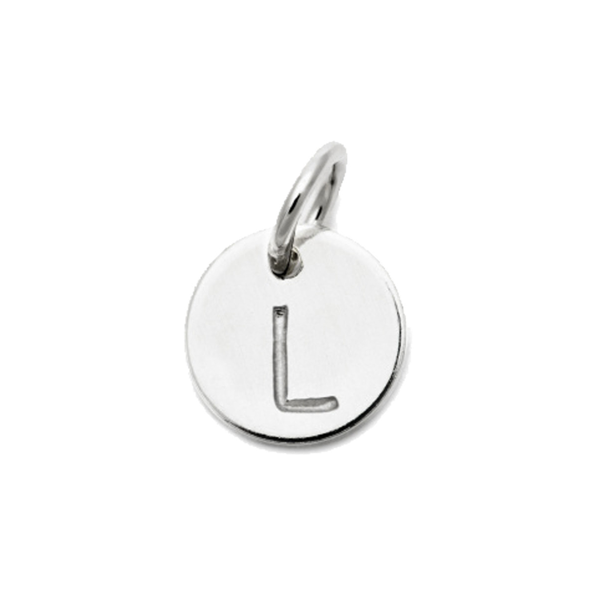 Laughing Sparrow Letter Charm L
