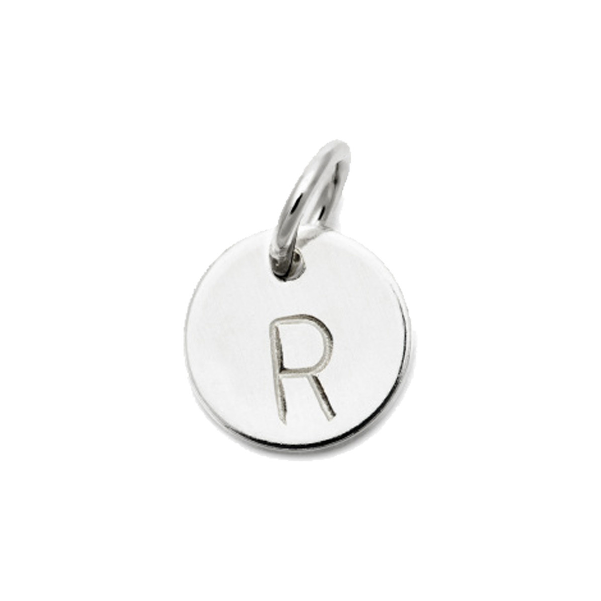 Laughing Sparrow Letter Charm R