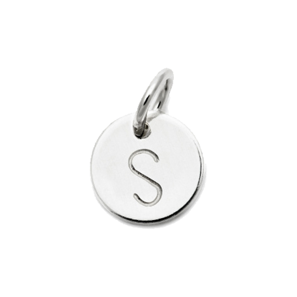 Laughing Sparrow Letter Charm S