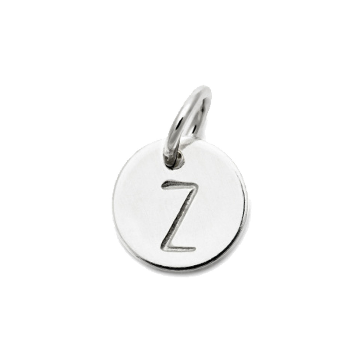 Laughing Sparrow Letter Charm Z