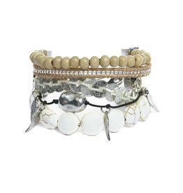 Victoria Emerson Faro Mini Wrap Bracelet