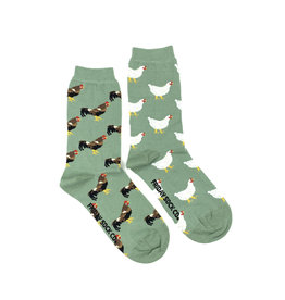 Friday Sock Co. Women's Chicken & Rooster Crew