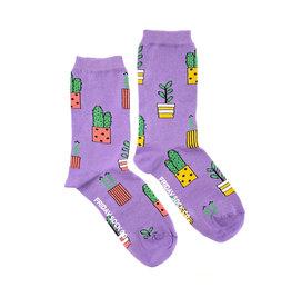 Friday Sock Co. Women's Plants Crew
