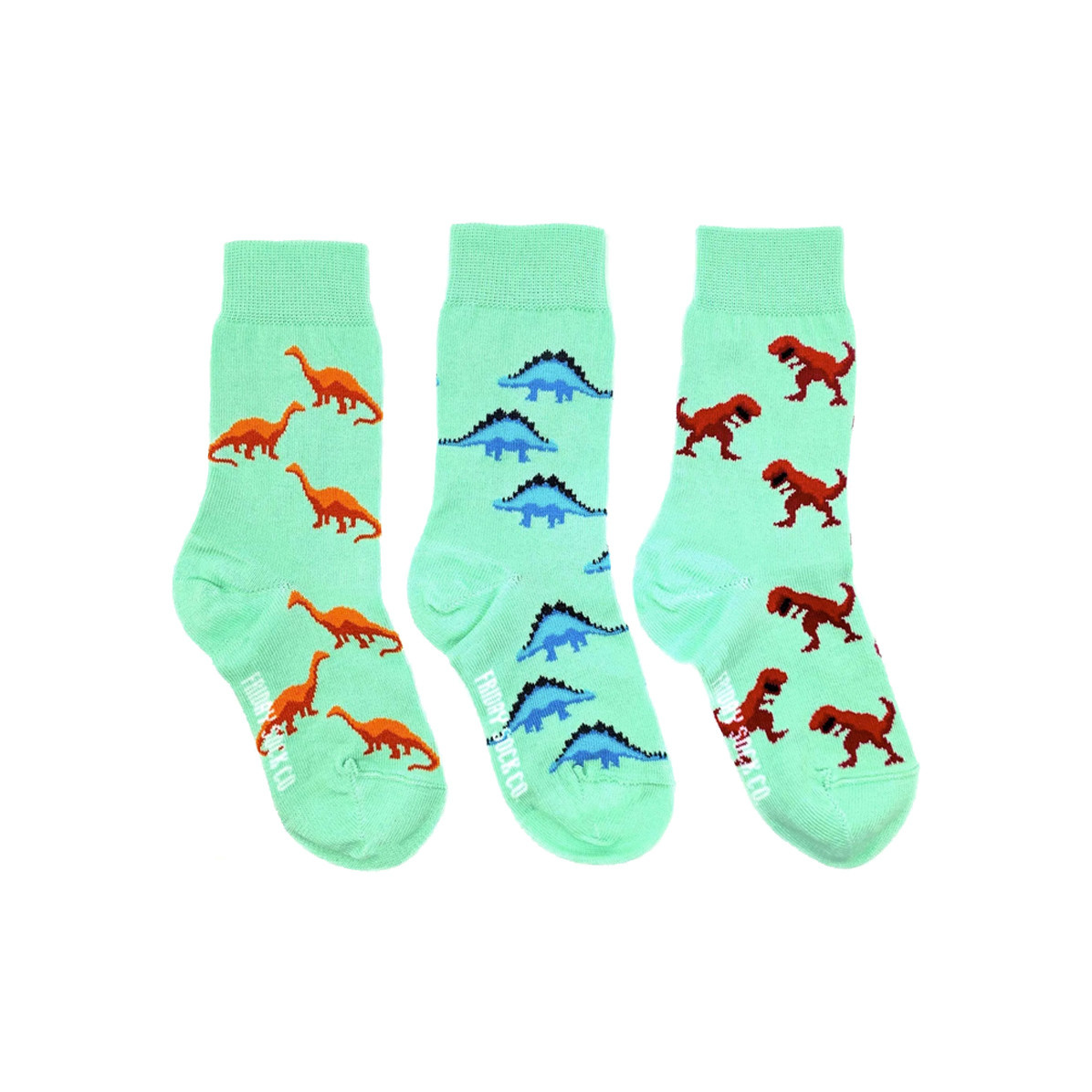 Friday Sock Co. Friday Sock Co. Kids Dino Crew