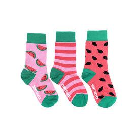Friday Sock Co. Kids Watermelon Crew