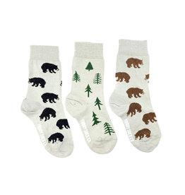 Friday Sock Co. Kids Bear & Tree Crew