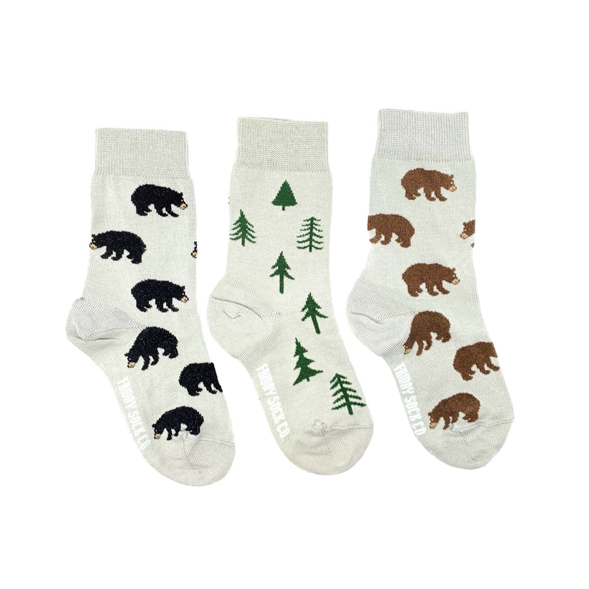 Friday Sock Co. Friday Sock Co. Kids Bear & Tree Crew