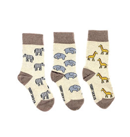 Friday Sock Co. Kids Safari Crew