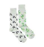 Friday Sock Co. Friday Sock Co. Men's Panda & Bamboo Crew