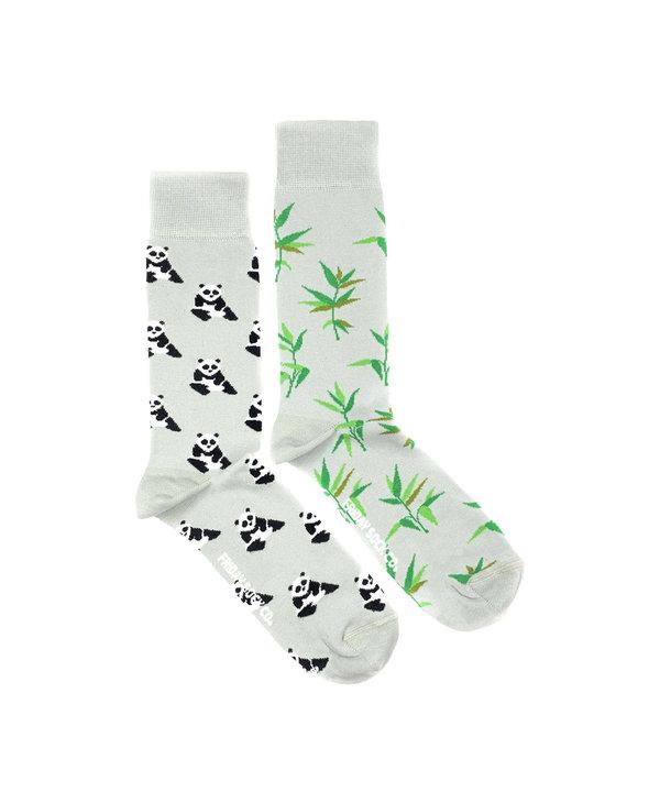 Friday Sock Co. Men's Panda & Bamboo Crew