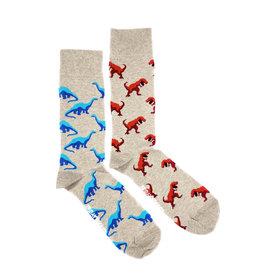 Friday Sock Co. Men's Dinosaurs Crew