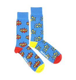 Friday Sock Co. Men's Pow Zap Crew