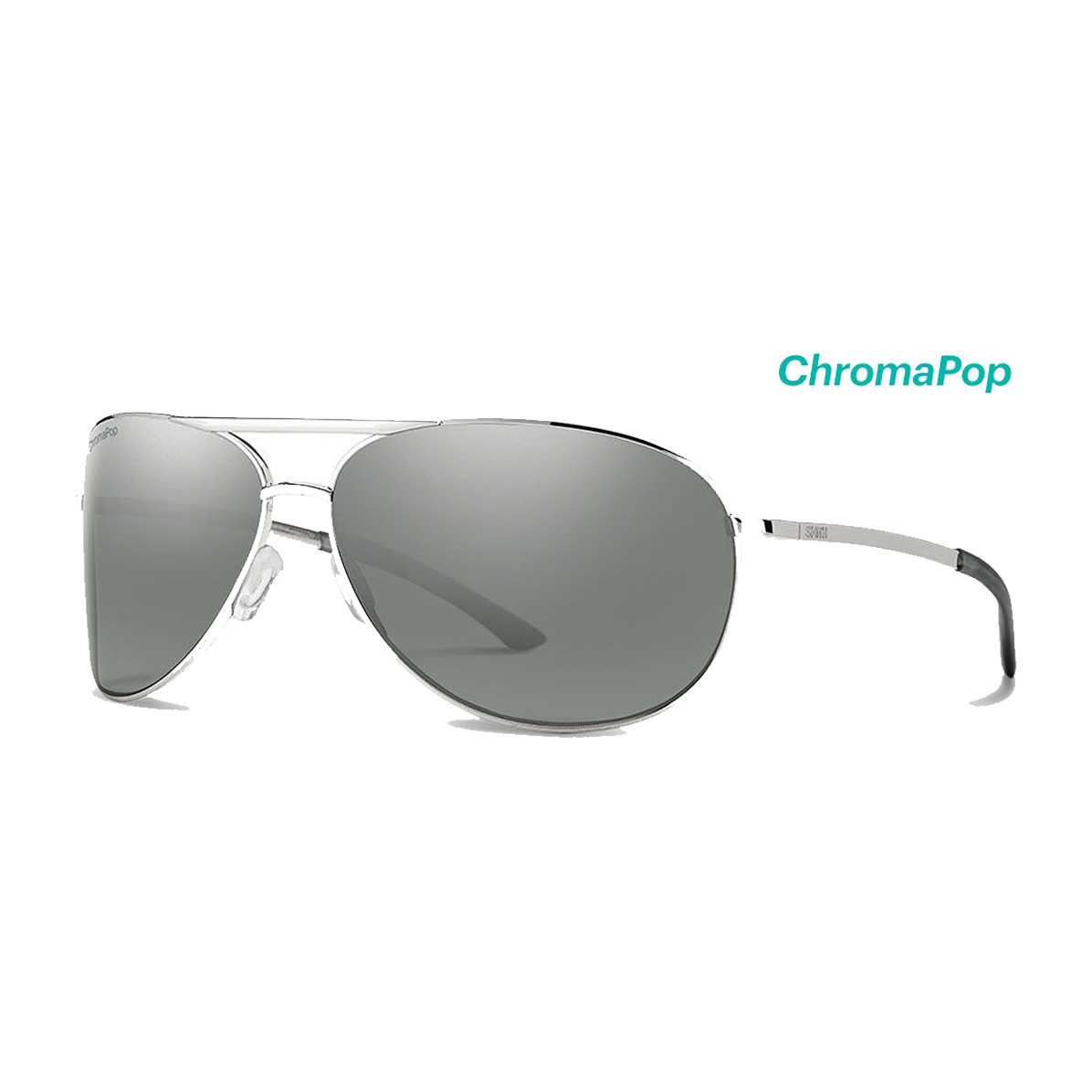 Smith Smith Serpico 2.0 Silver / Platinum Mirror Lens
