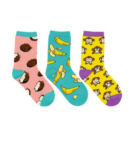 Socksmith Kids Spunky Monkey